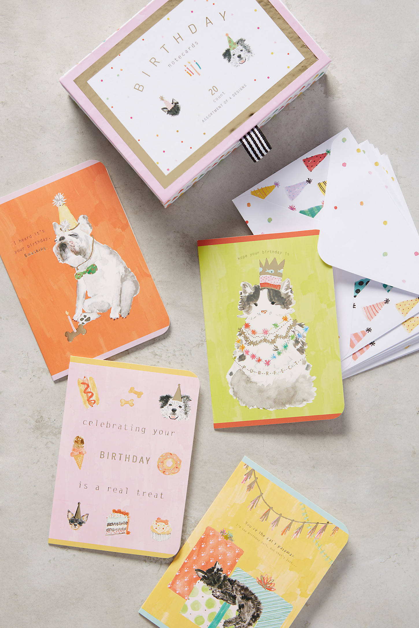 Fields Abloom Birthday Cards