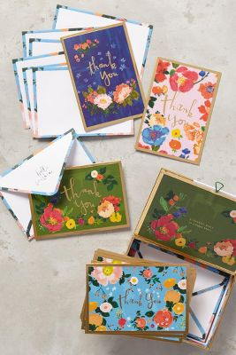 Fields Abloom Thank You Cards