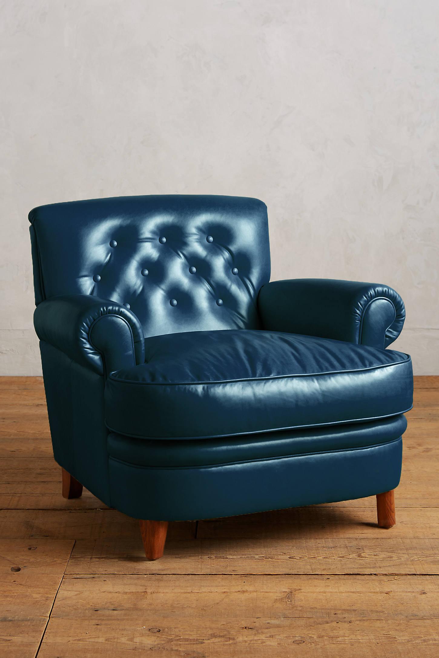 Premium Leather Kimmeridge Armchair