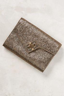 Metallic Carlisle Clutch