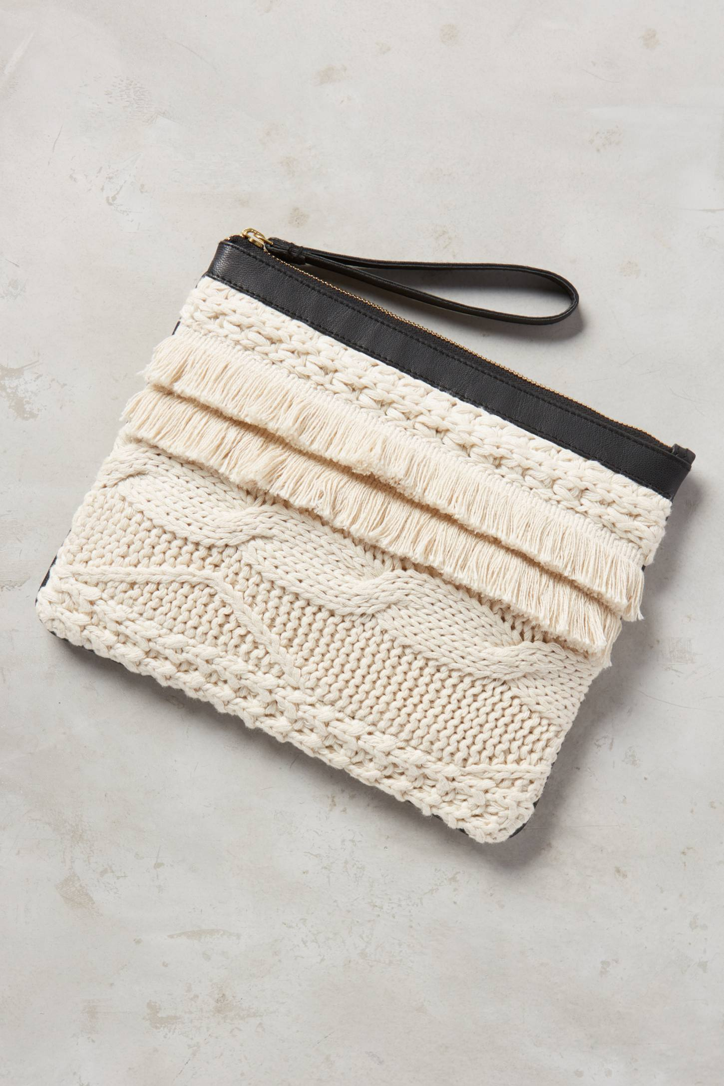 Luella Knitwork Pouch