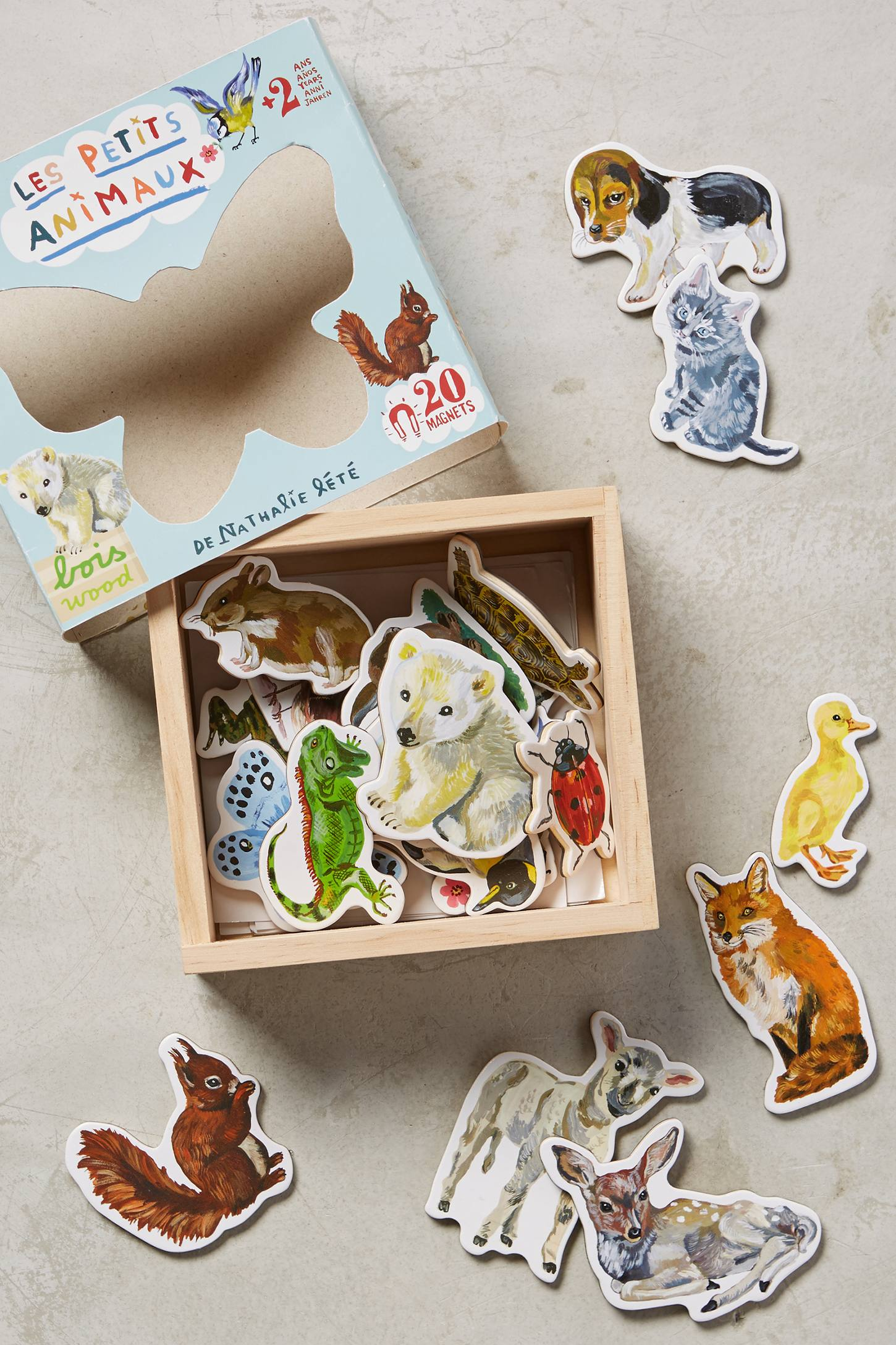 Illustrated Creatures Magnets