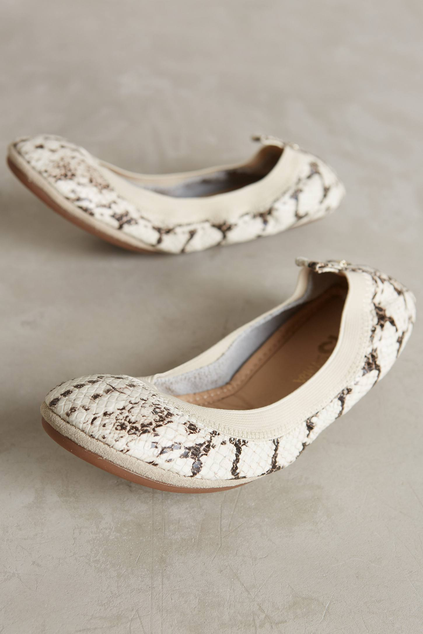 Yosi Samra Embossed Fold-Up Flats