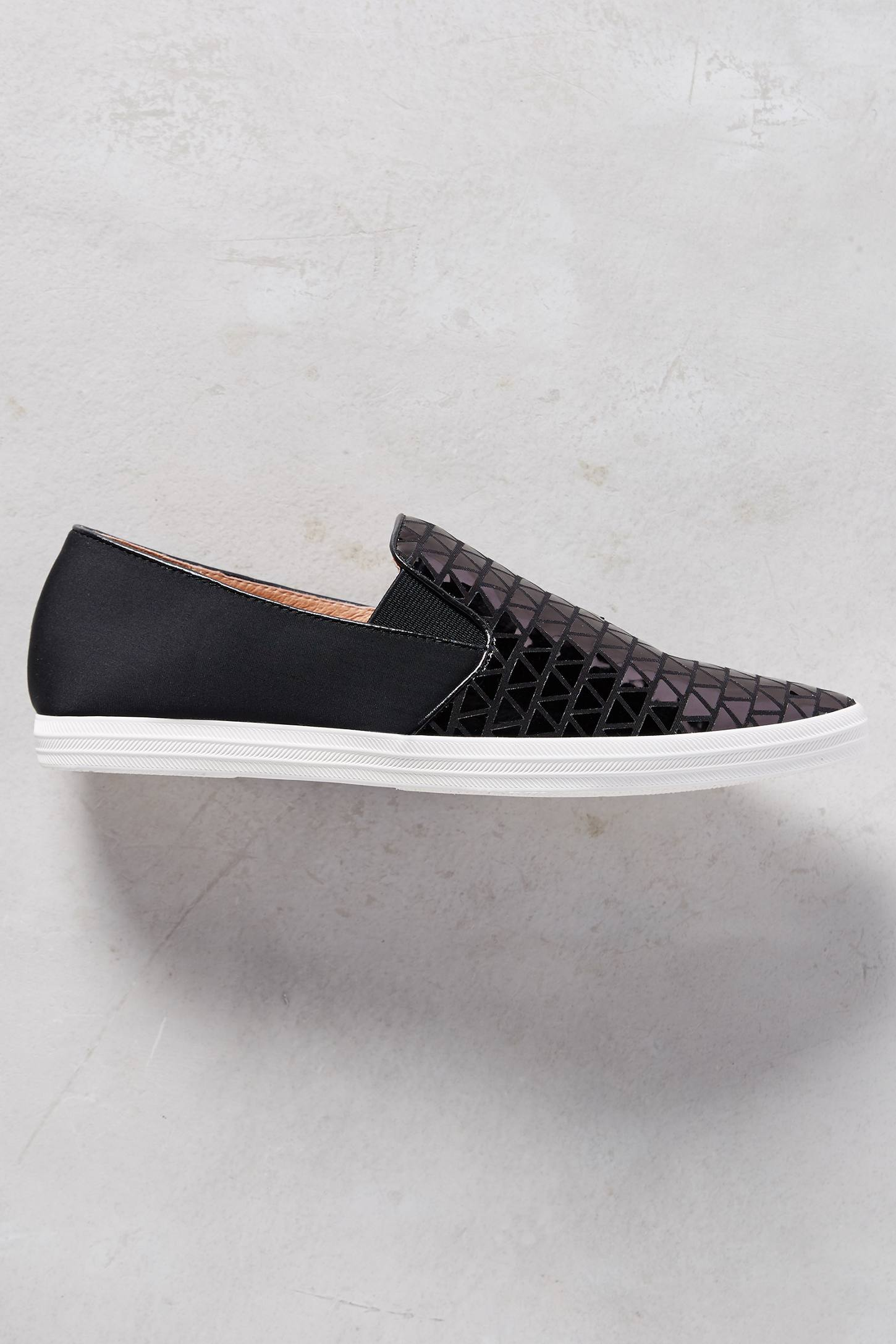 All Black Scales Sneakers