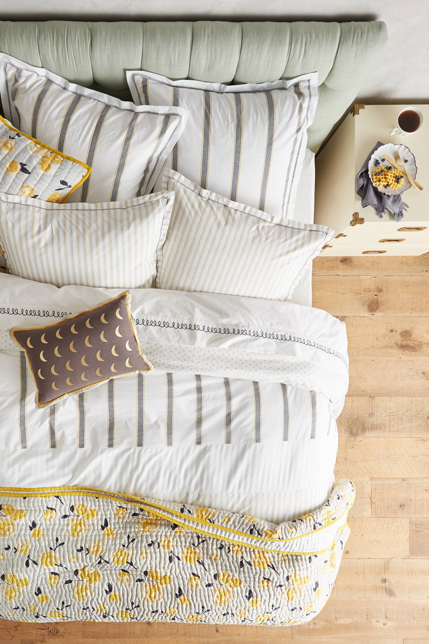 Salento Striped Duvet