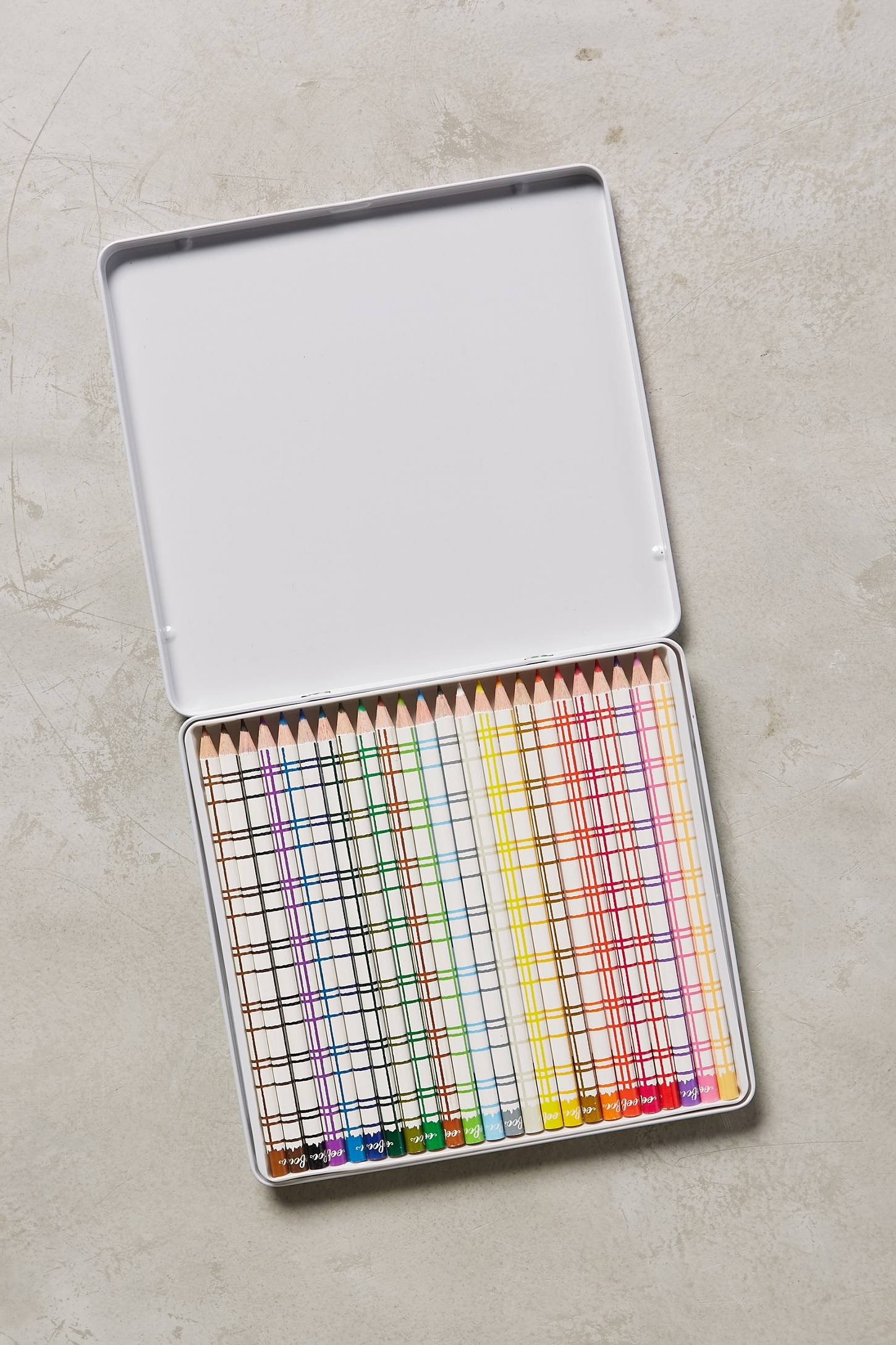 Watercolor Pencils Tin
