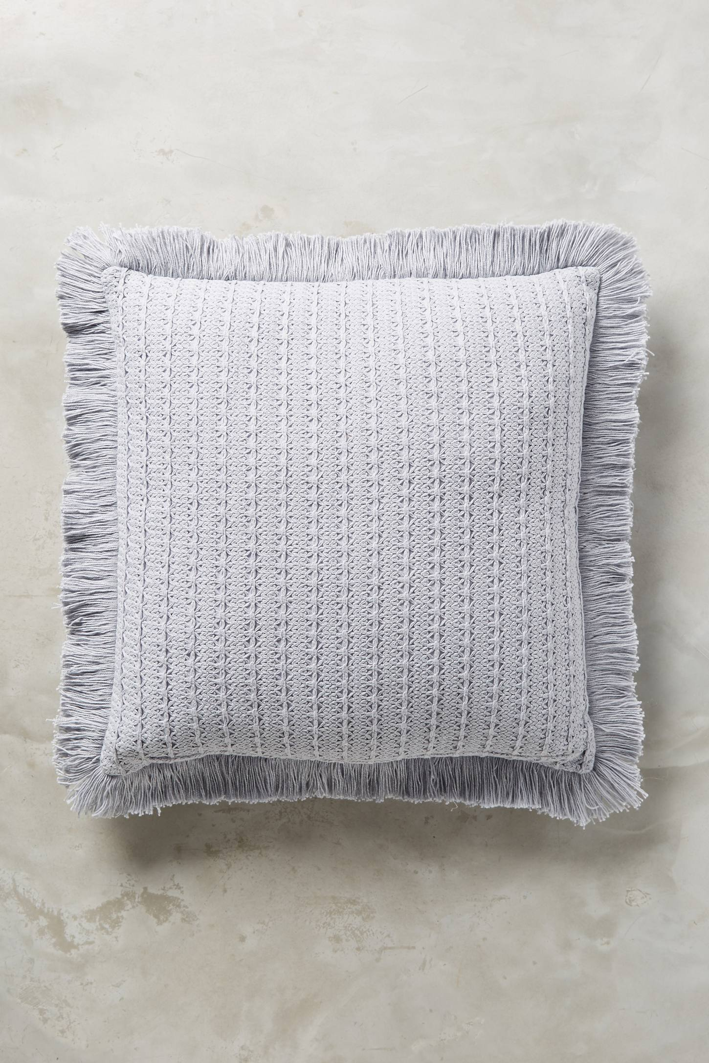 Eyelet Stripe Cushion