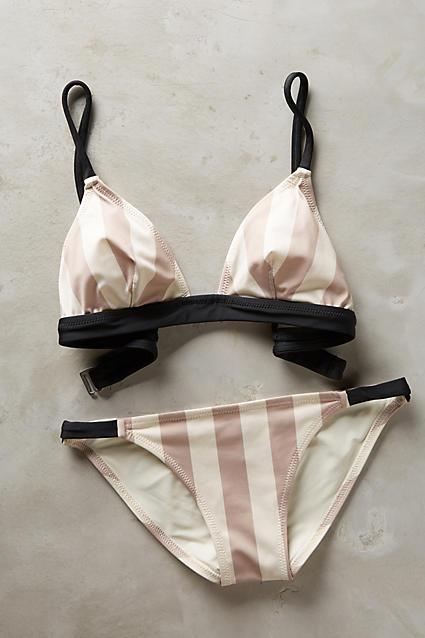 Cute striped bikini
