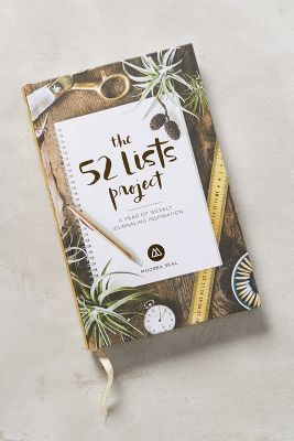 The 52 Lists Project