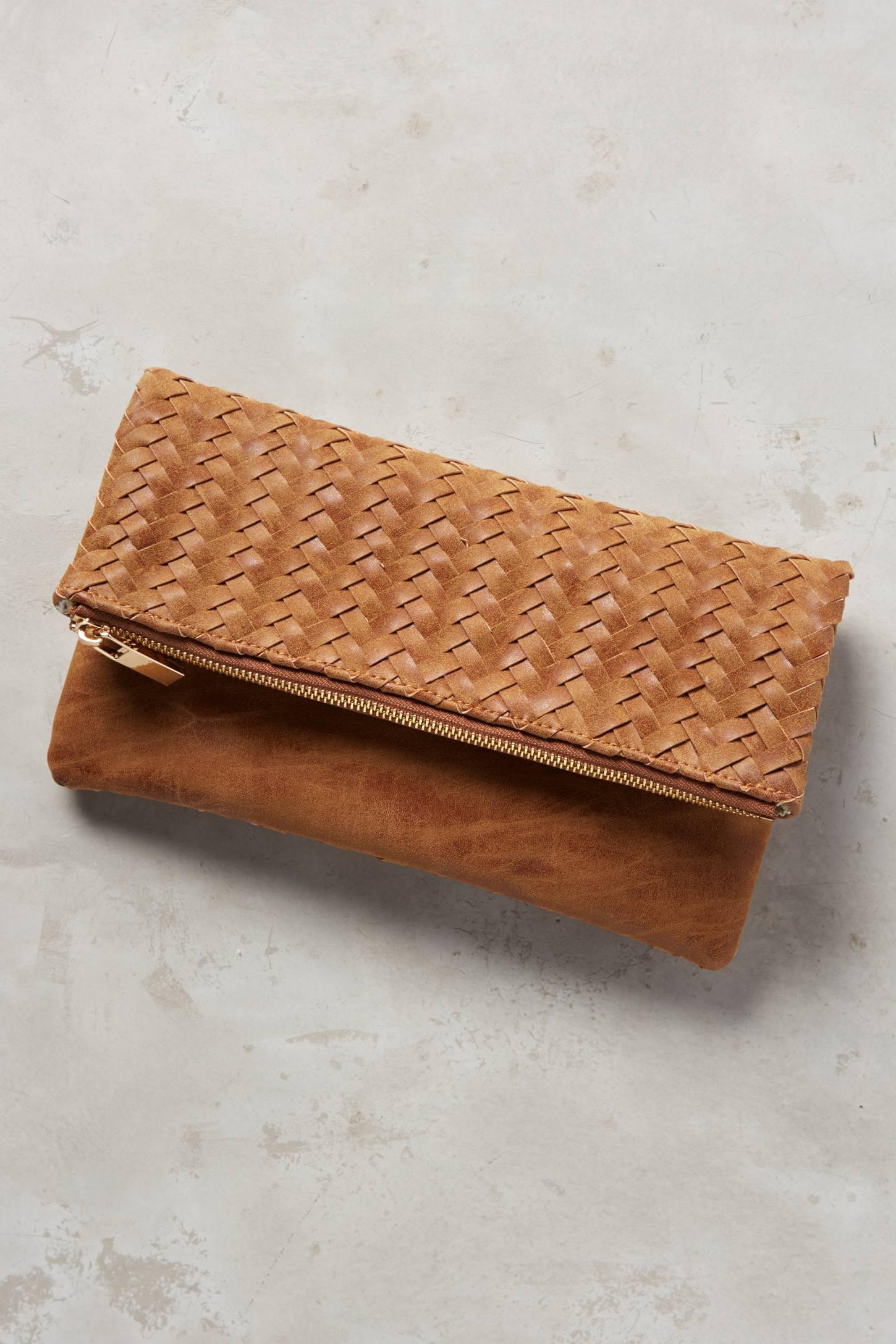 Ida Vegan Leather Clutch