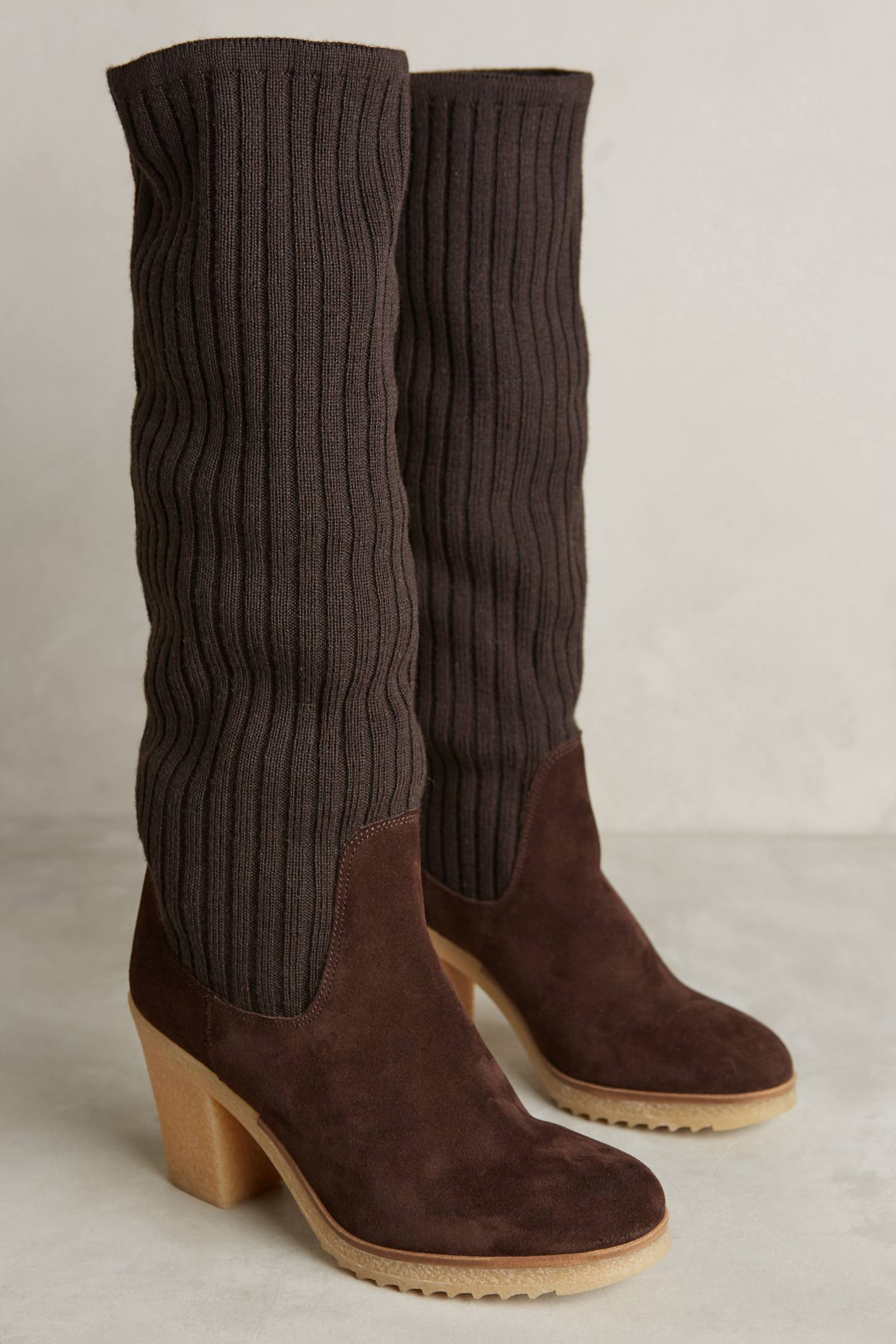 Miss Albright Sweaterknit Boots
