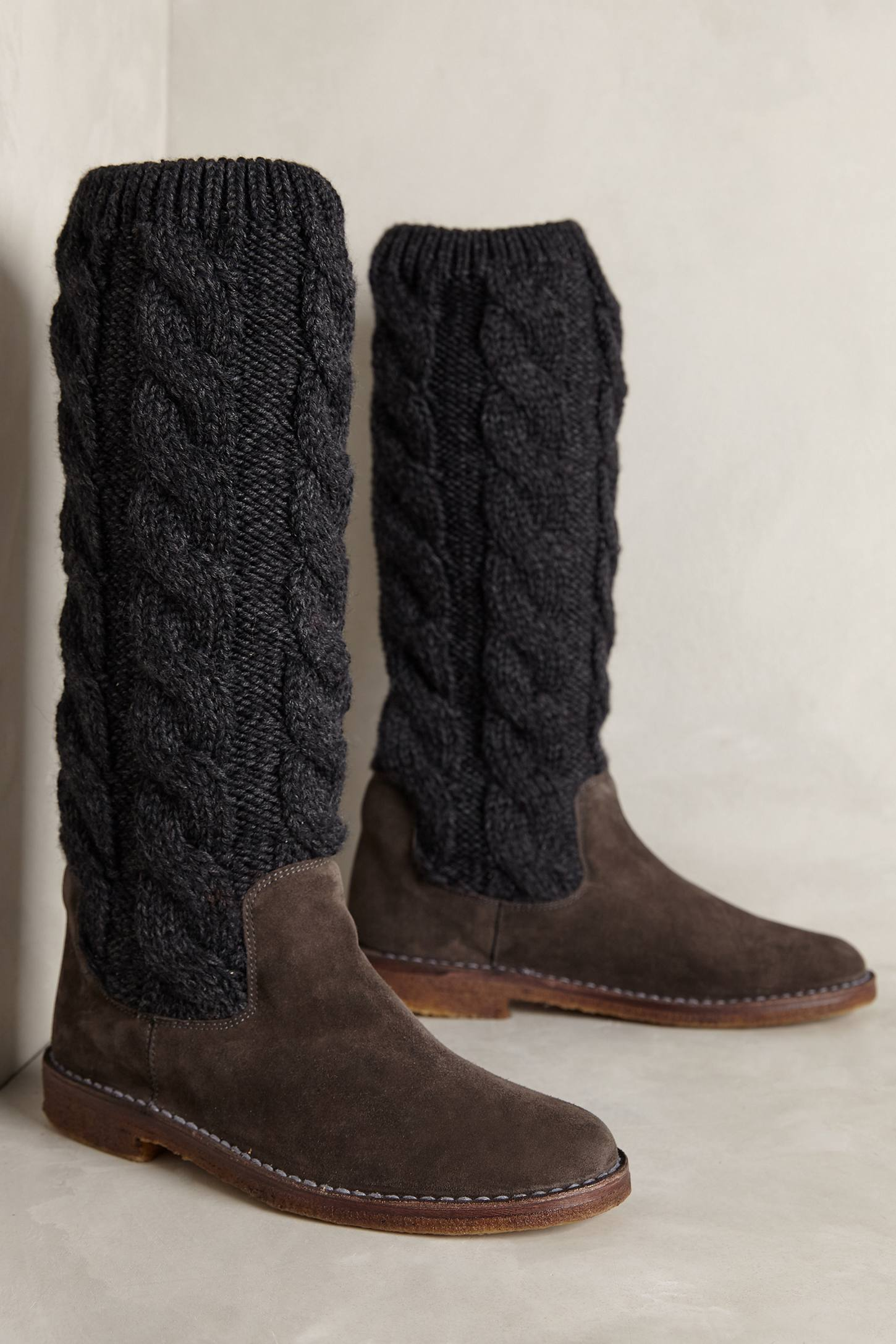 Miss Albright Cableknit Boots