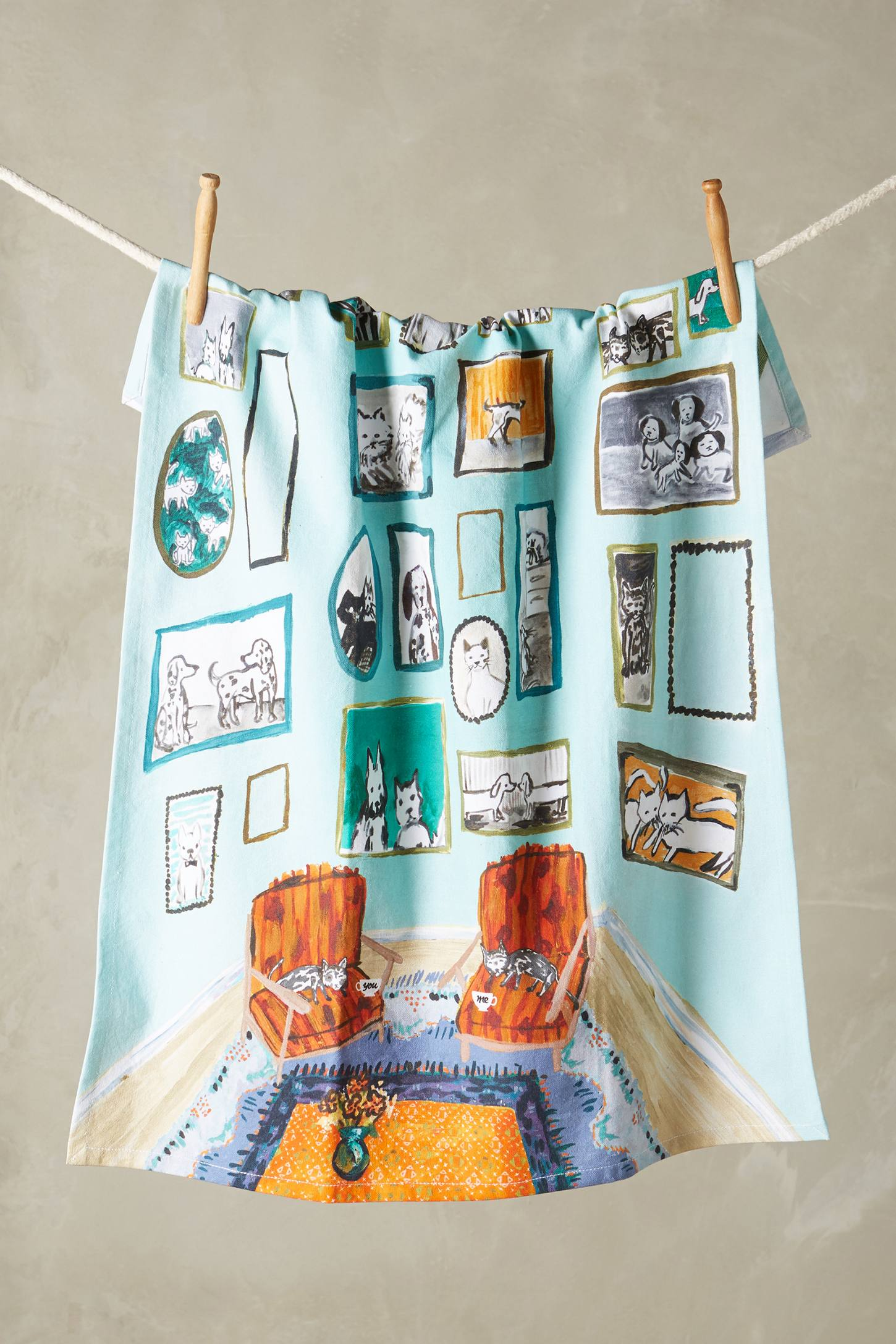 Post-Impressionism Tea Towel