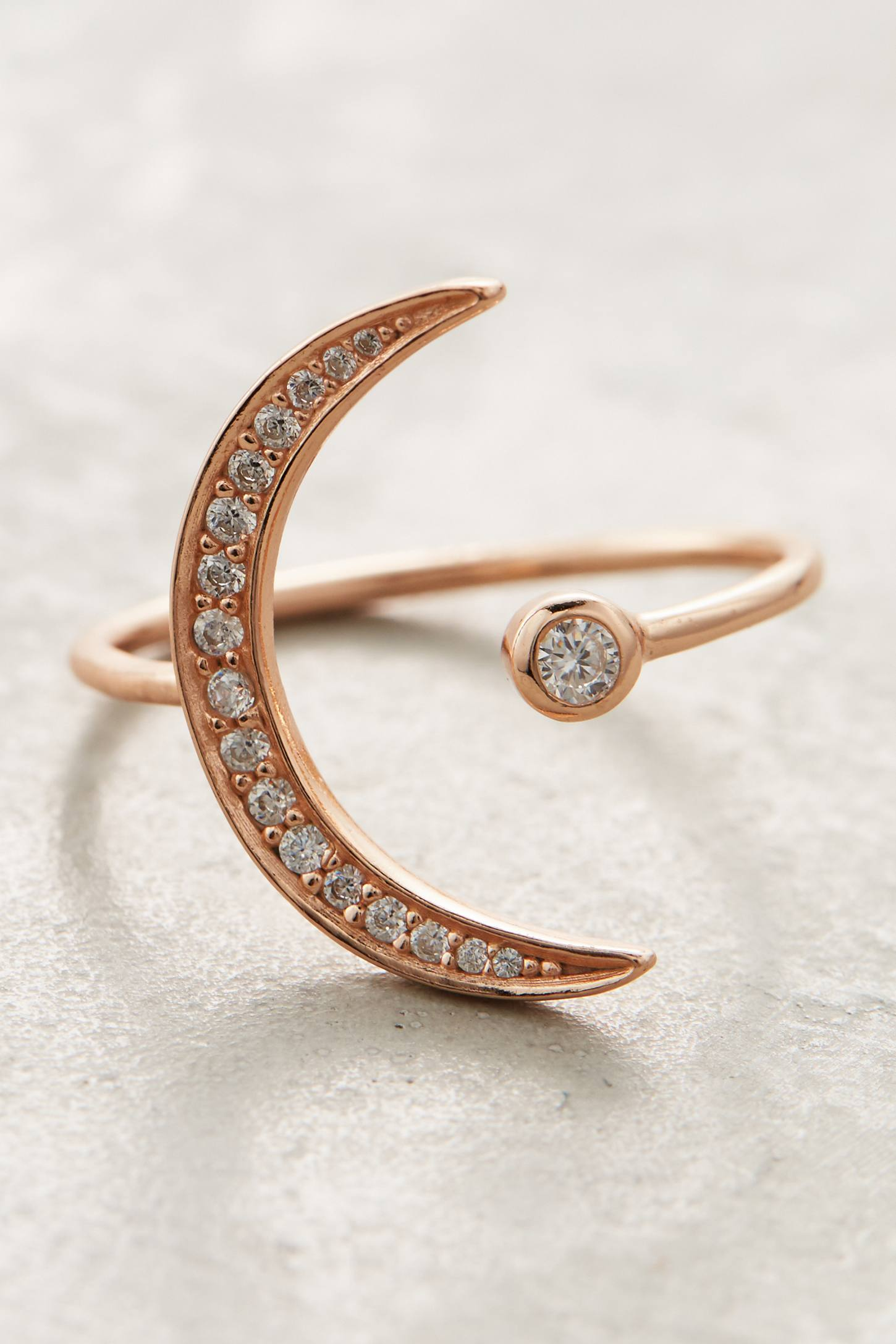 Crescent Orbit Ring