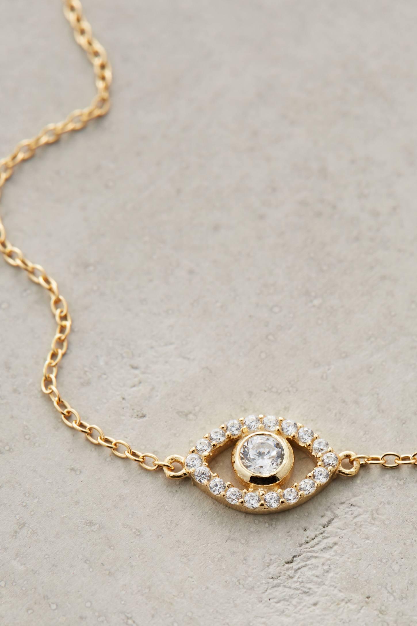 Shimmered Eye Bracelet