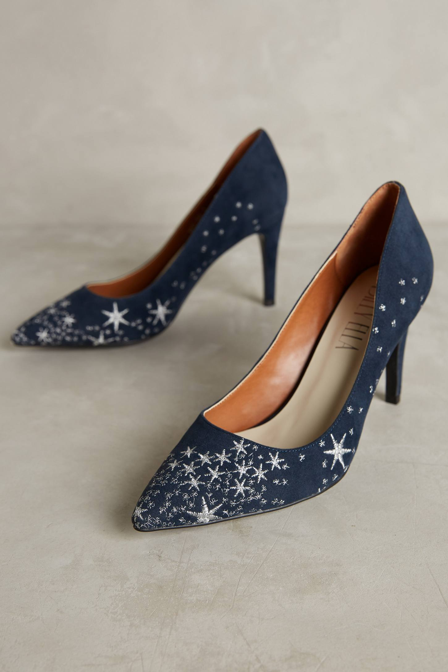 Billy Ella Embroidered Star Pumps