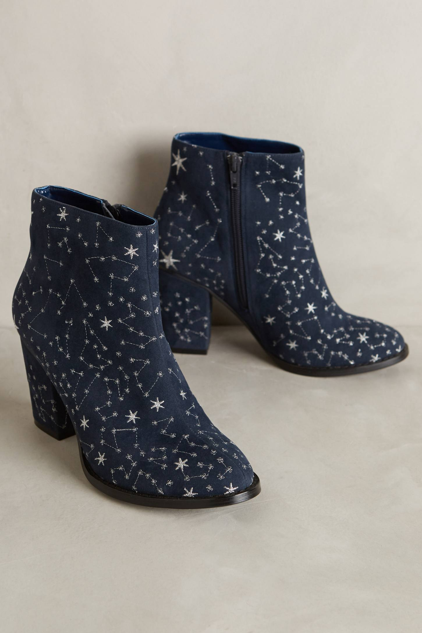 Billy Ella Embroidered Star Booties