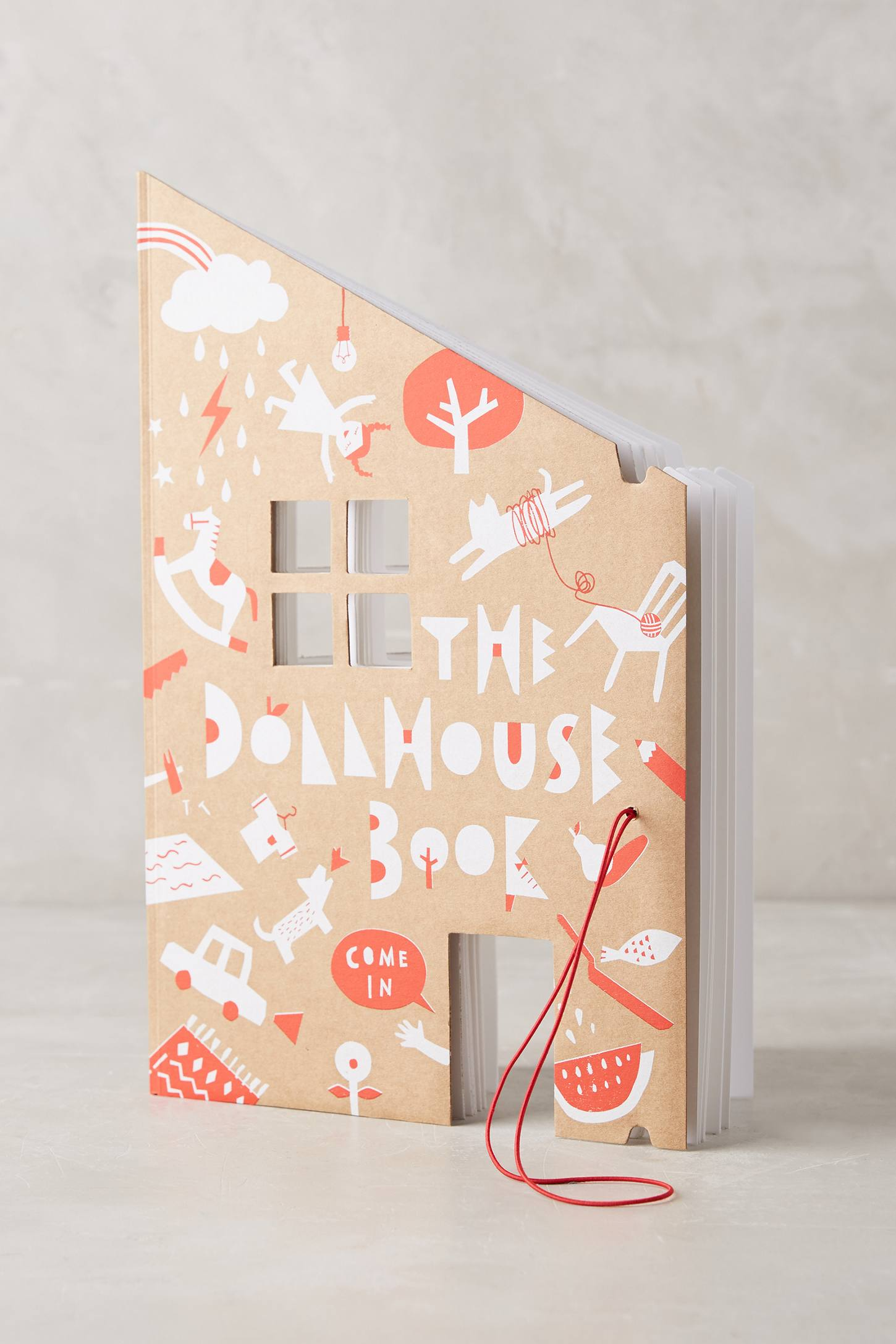 Dollhouse Coloring Book