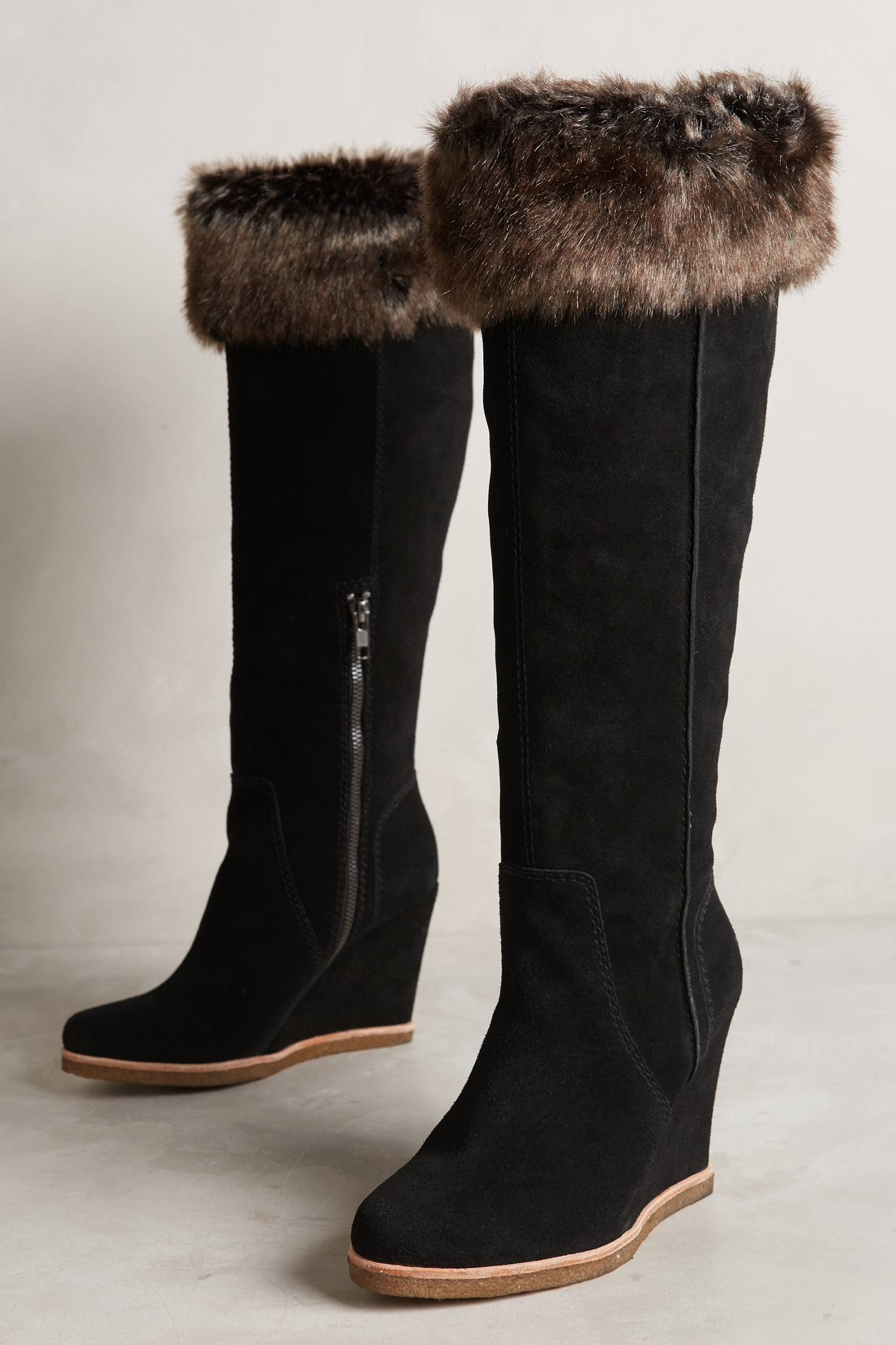 Splendid Tatum Wedge Boots