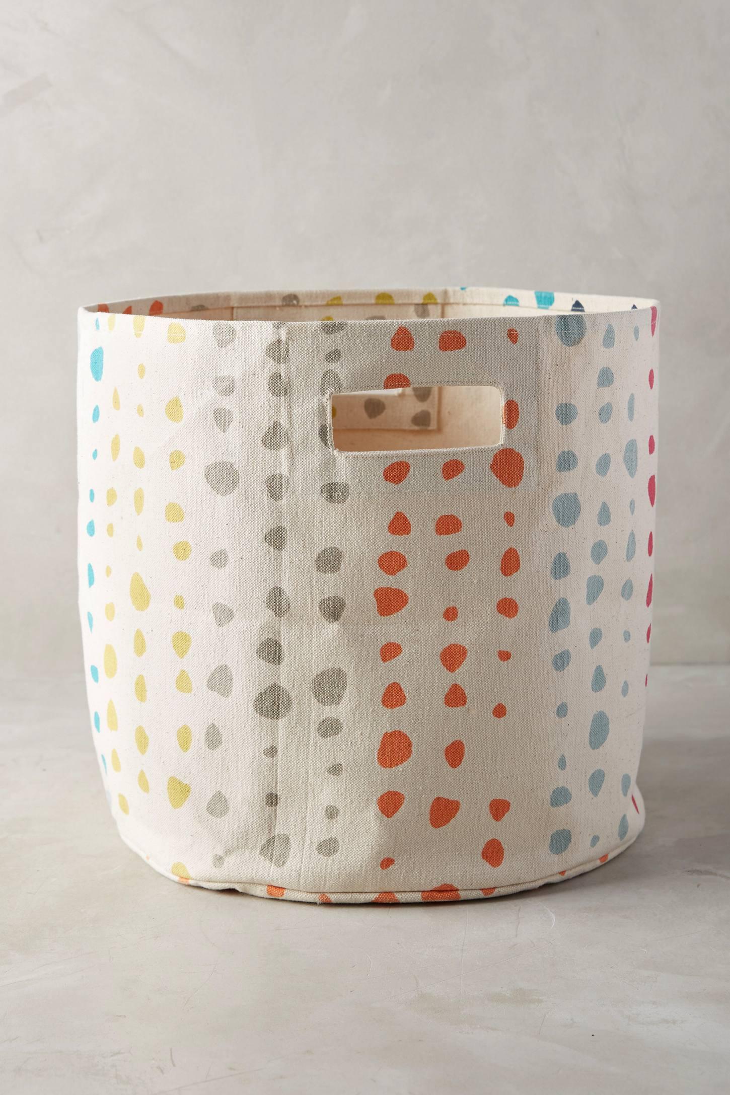 Painted Spots Basket