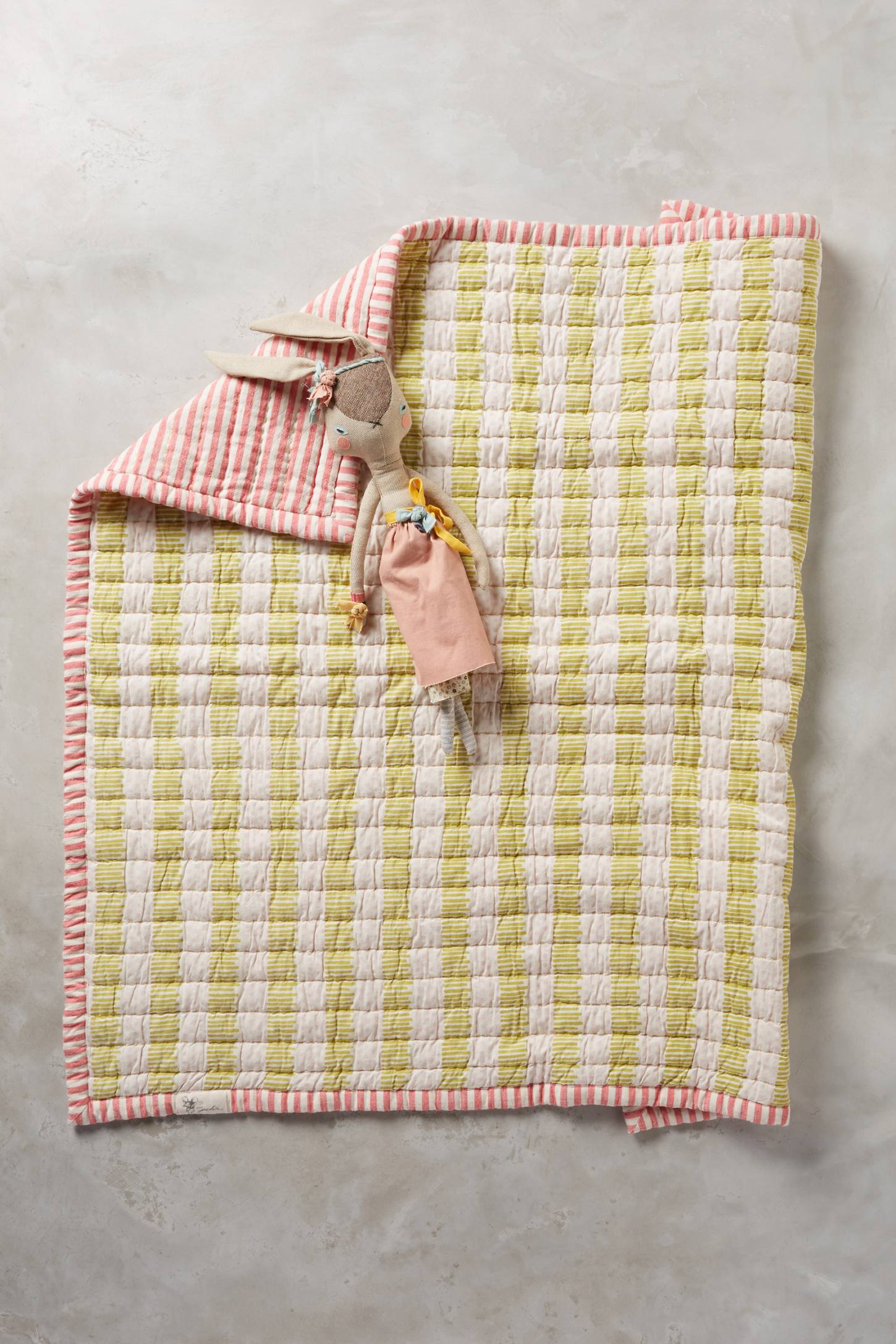 Soft Quilted Blanket
