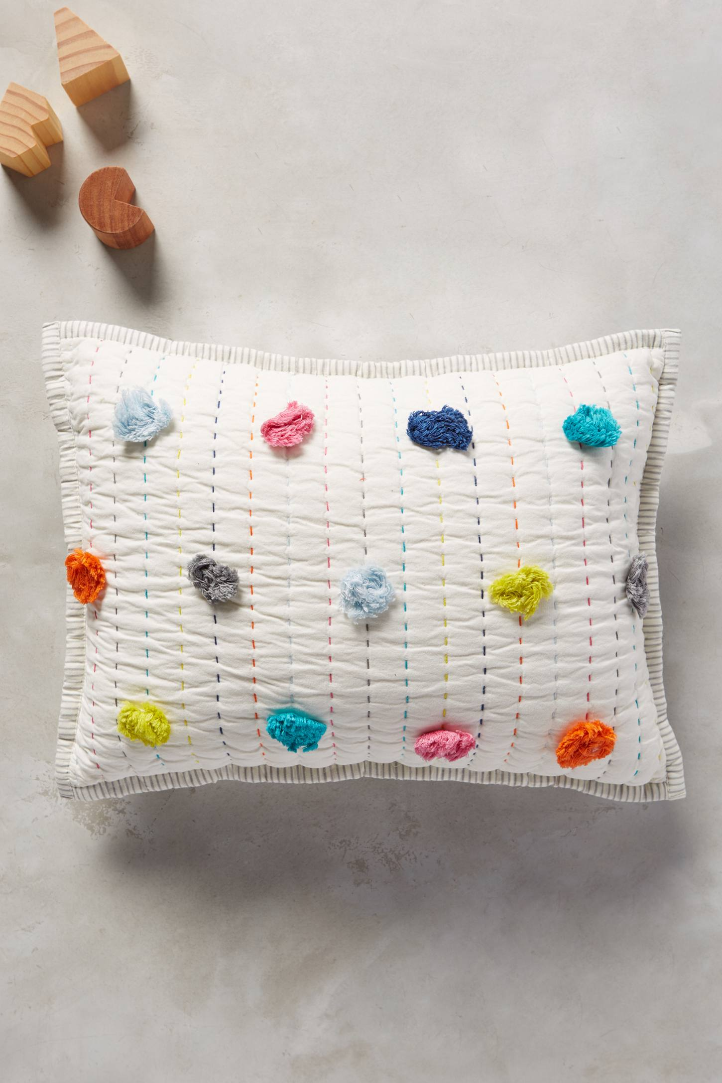 Pom-Dash Toddler Pillow