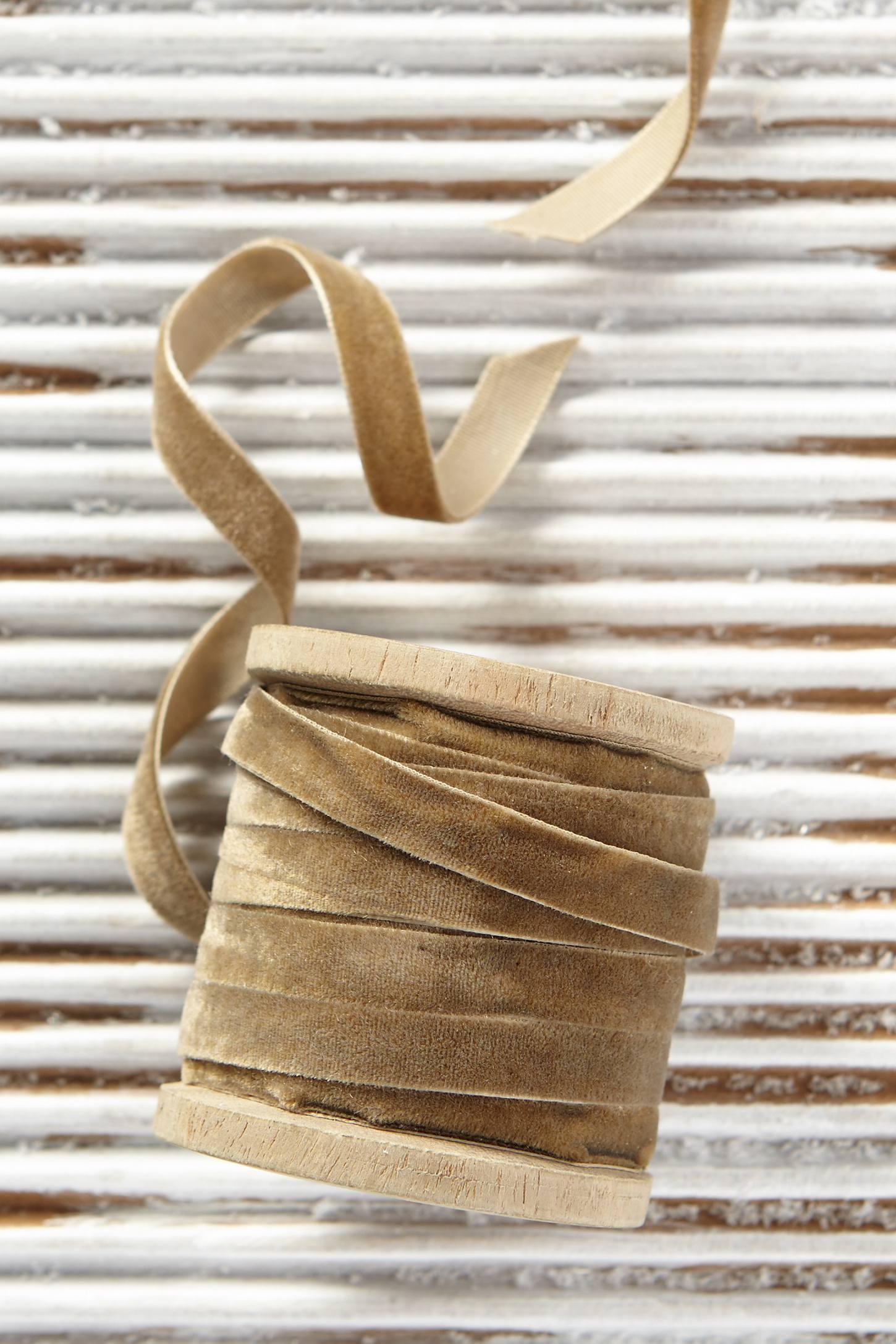 Velvet Gift Ribbon