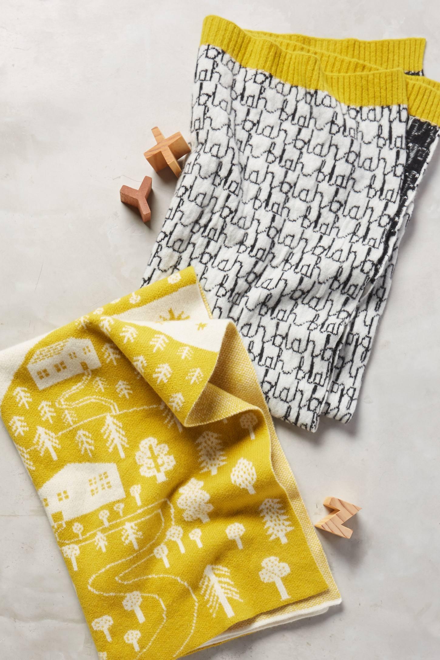 Lambswool Baby Blanket