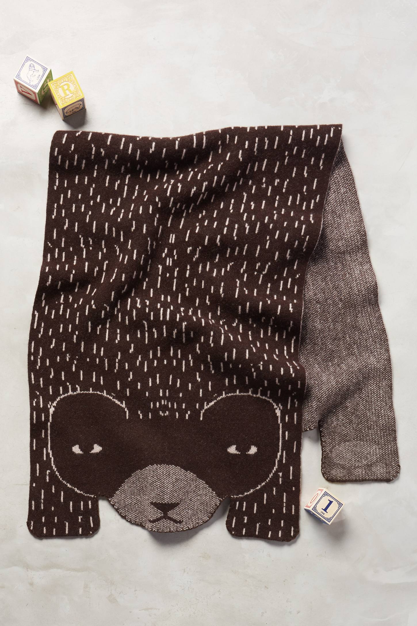 Hibernating Bear Shawl