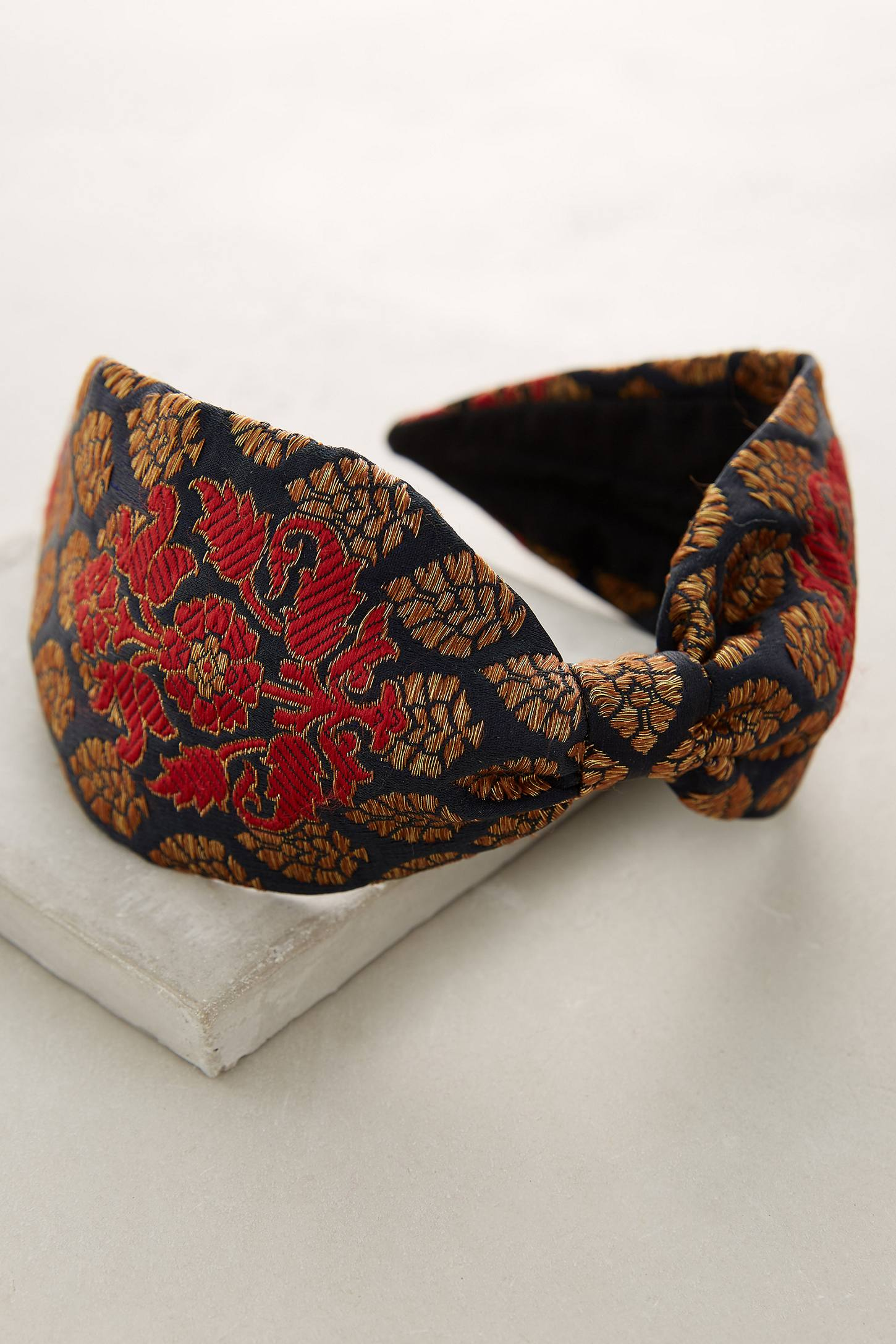 Brocade Turban Headband