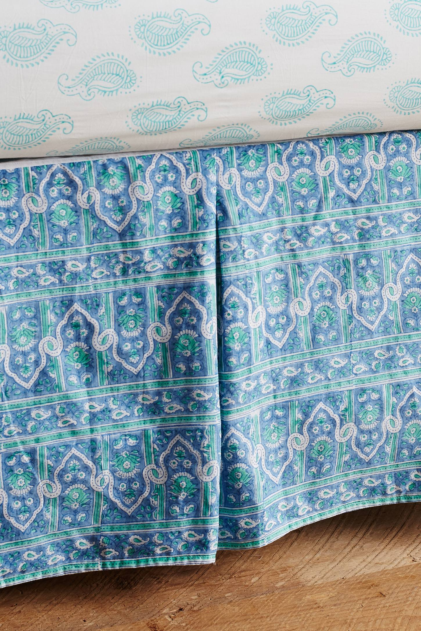 Eastern Skyline Crib Skirt