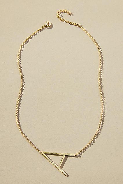 Beautiful monogram pendant necklace - only $38!