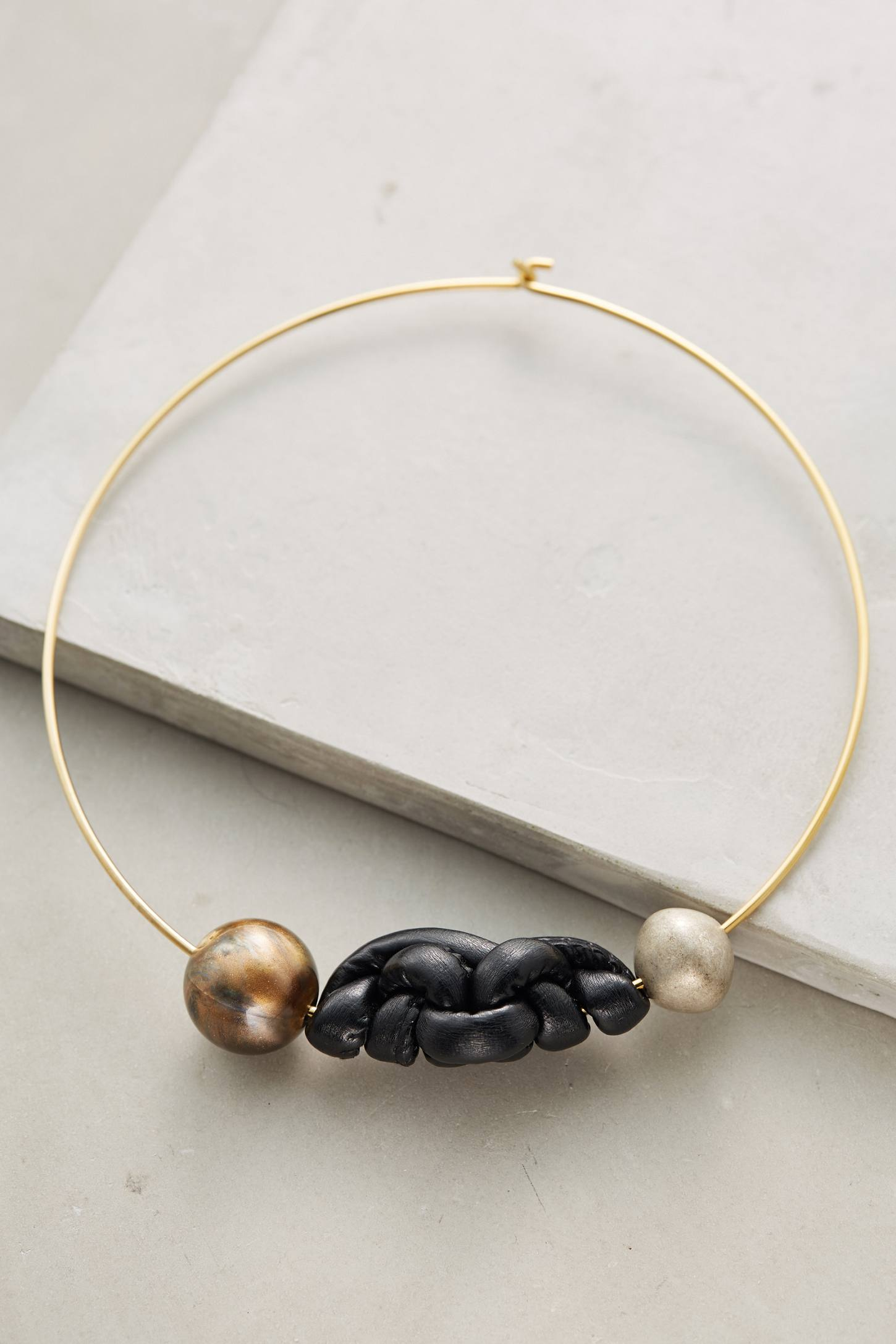 Knotwork Collar Necklace