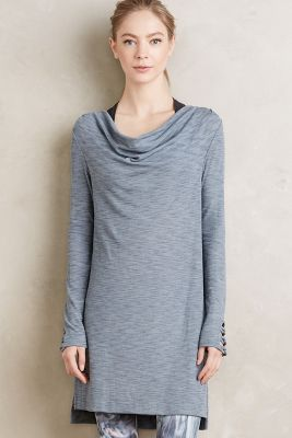 Cowled Jersey Tunic