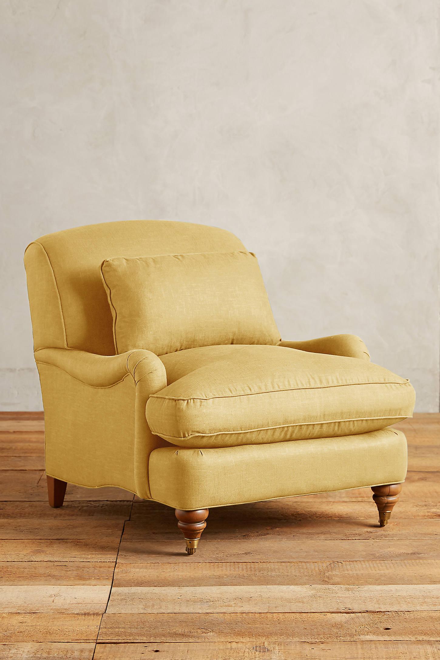 Linen Glenlee Chair, Landon