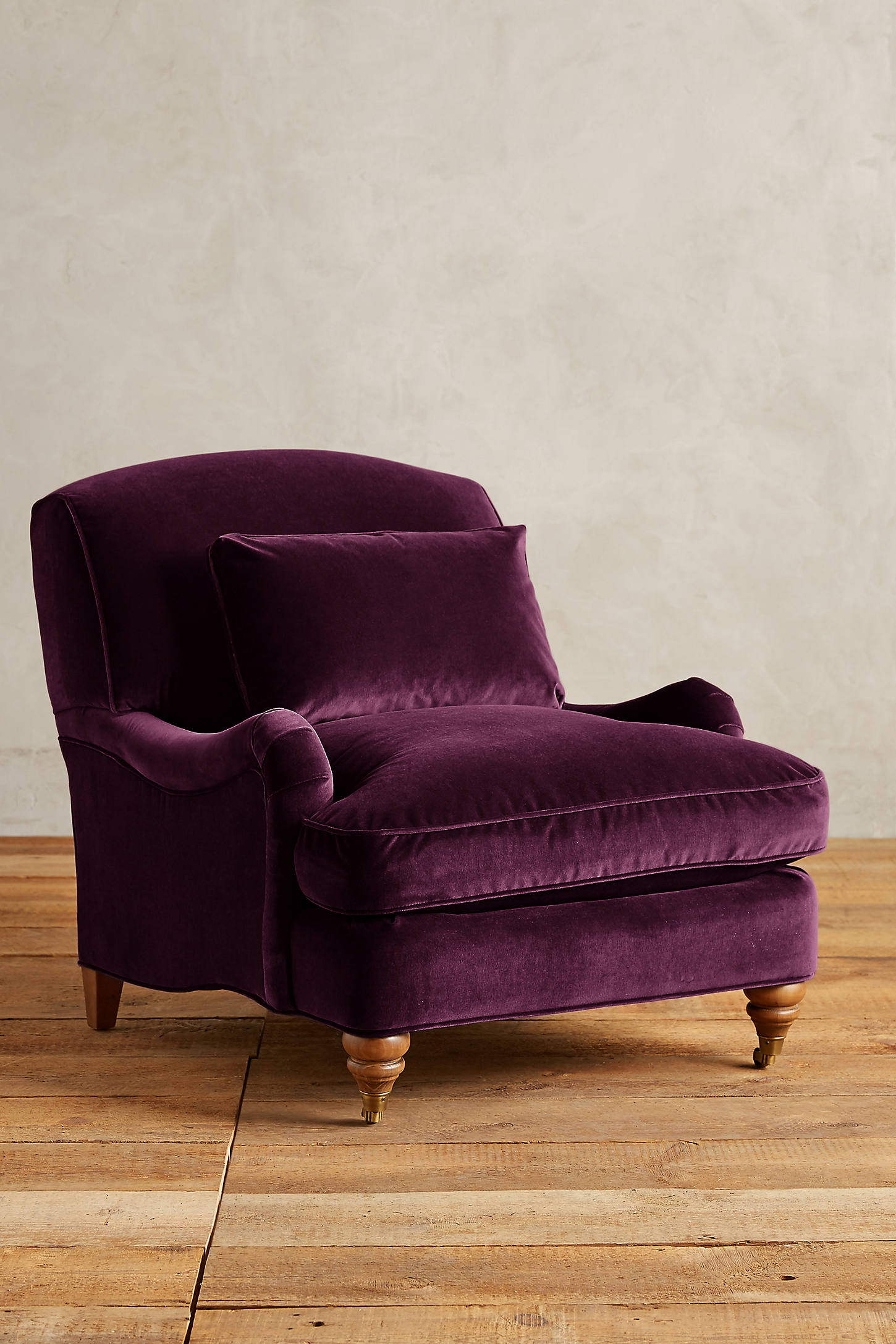 Velvet Glenlee Chair, Landon