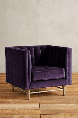 Velvet Marryn Chair