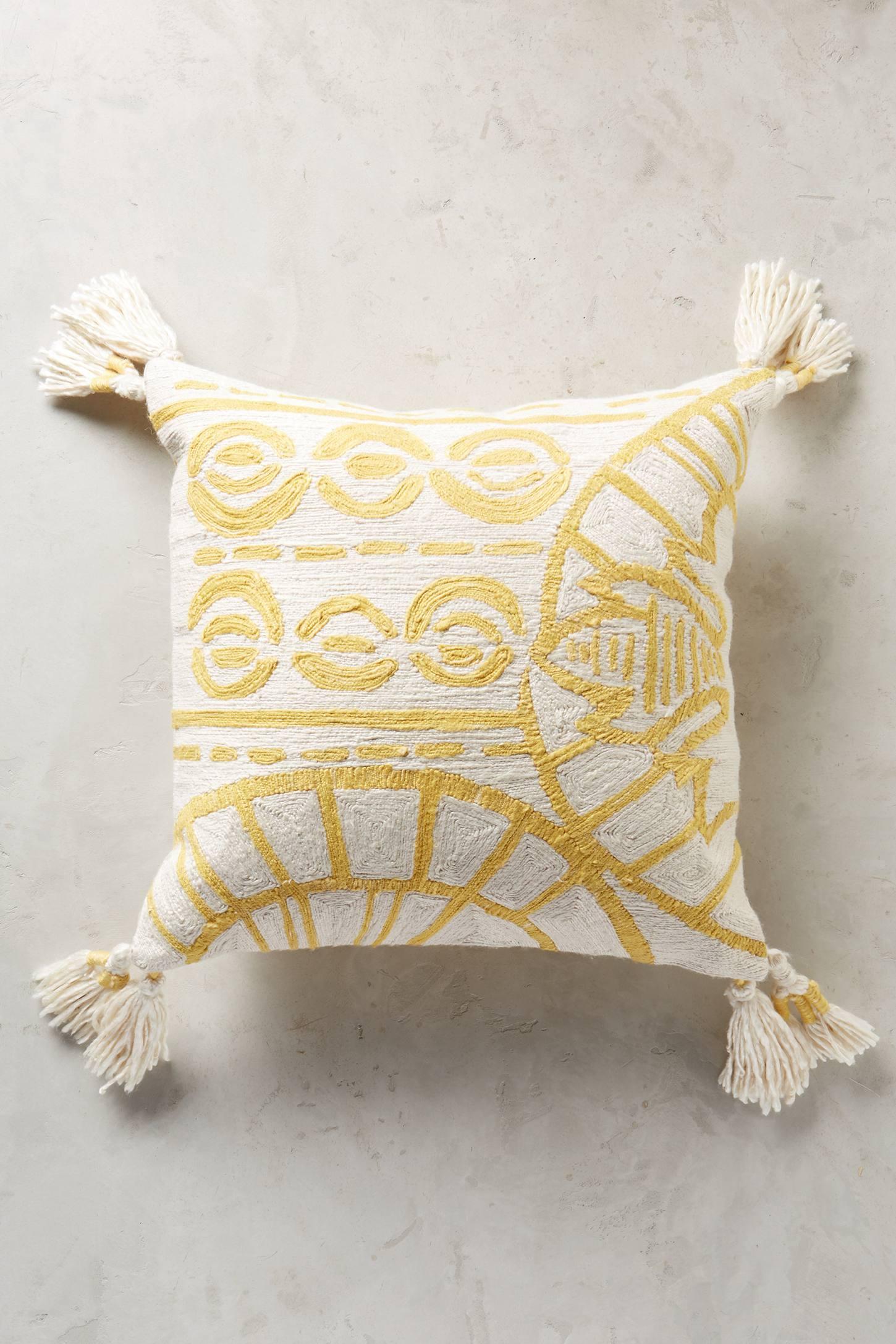 Rocio Embroidered Cushion