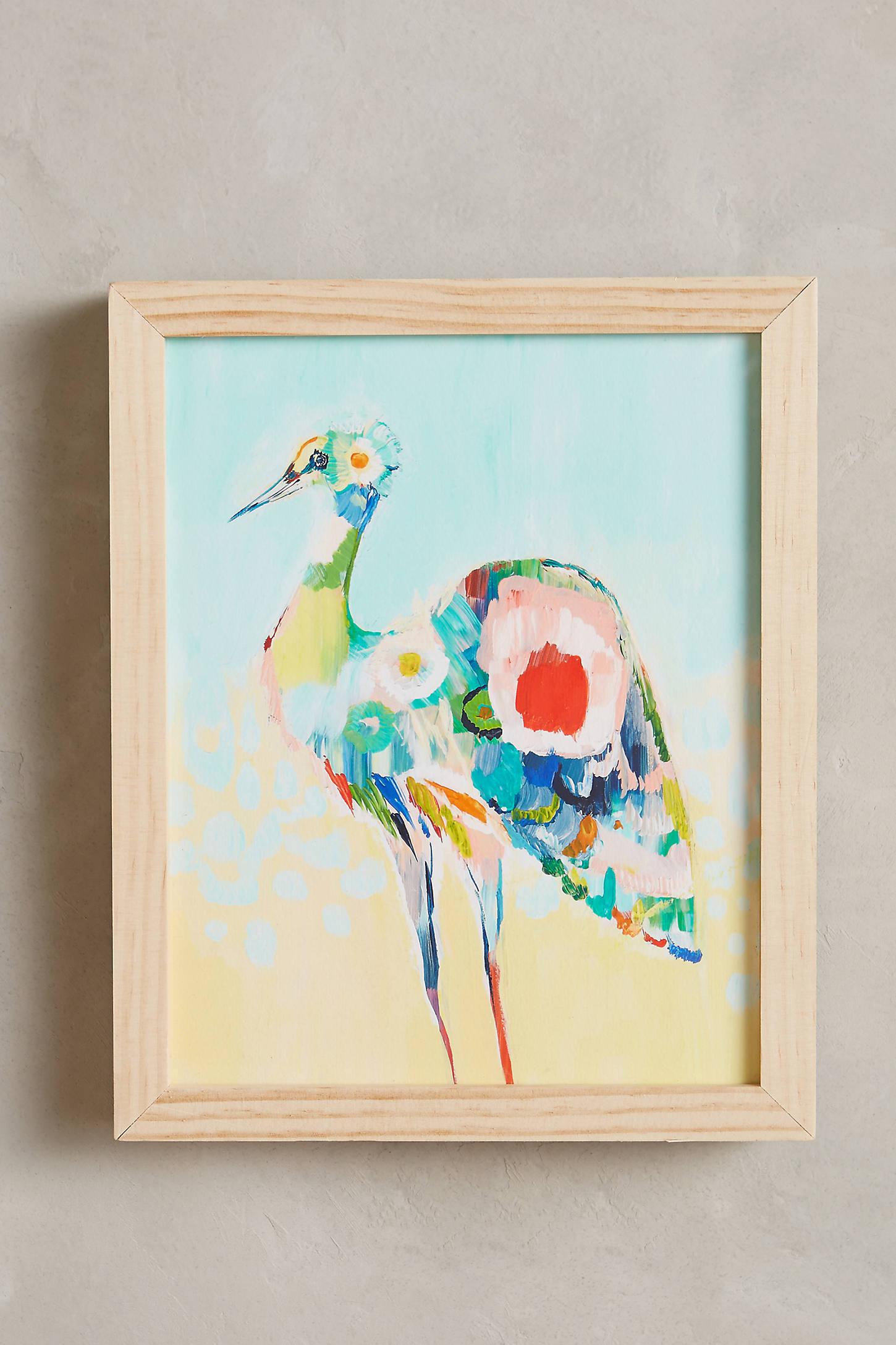 Mooreland Wall Art, Stork