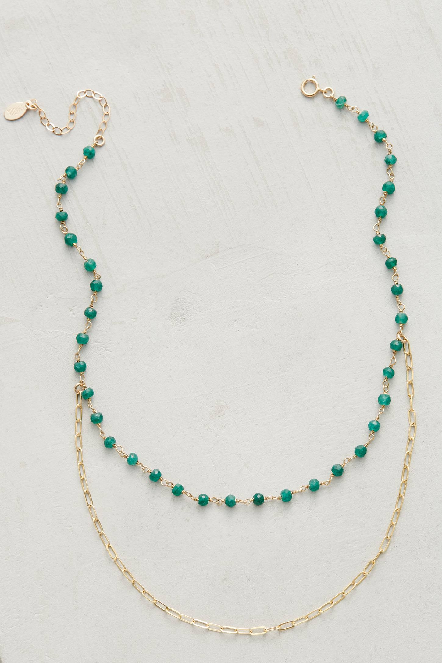 Eros Emerald Necklace