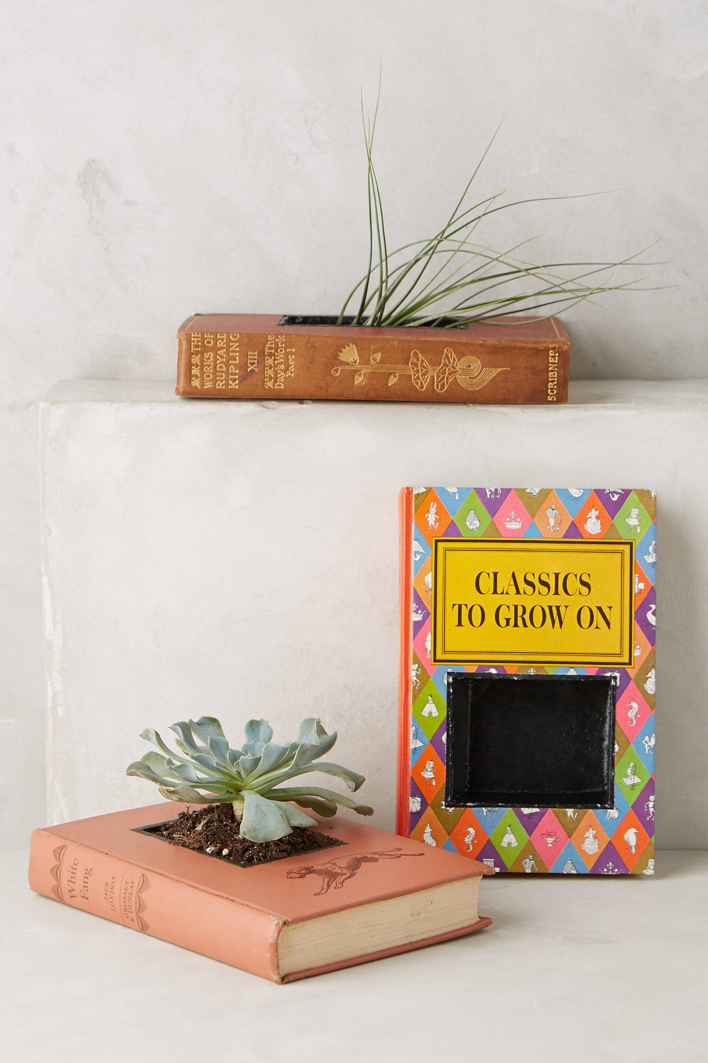 Bibliotheque Planter