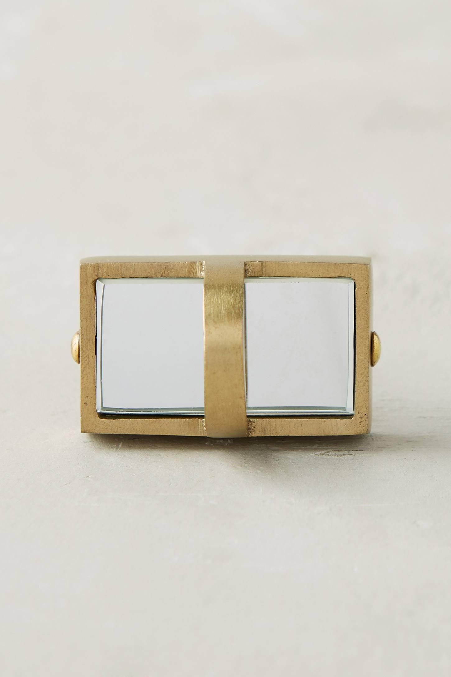 Mirrored Metallic Knob