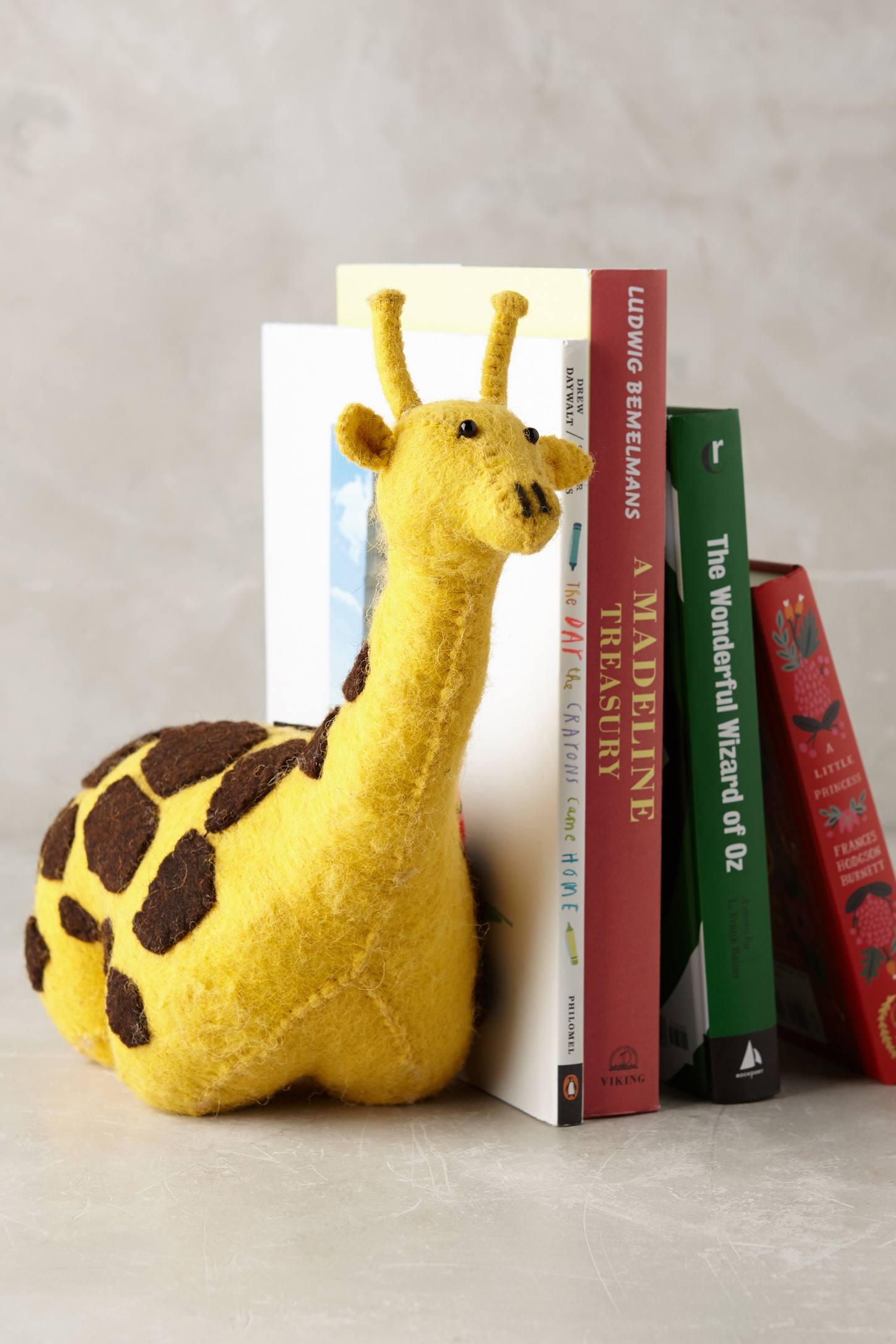 Soft & Sturdy Bookend