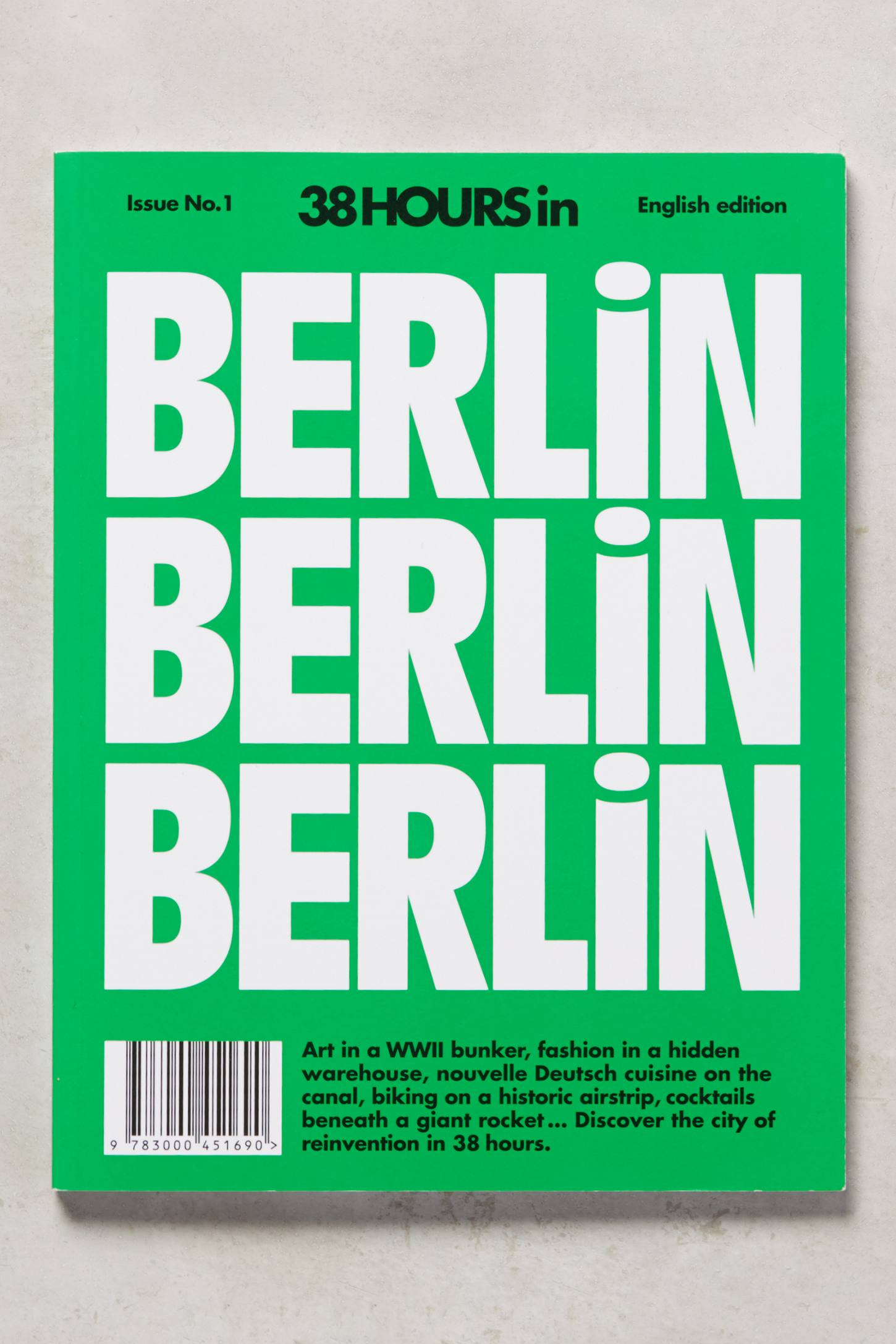 38HOURS Travel Guide Berlin