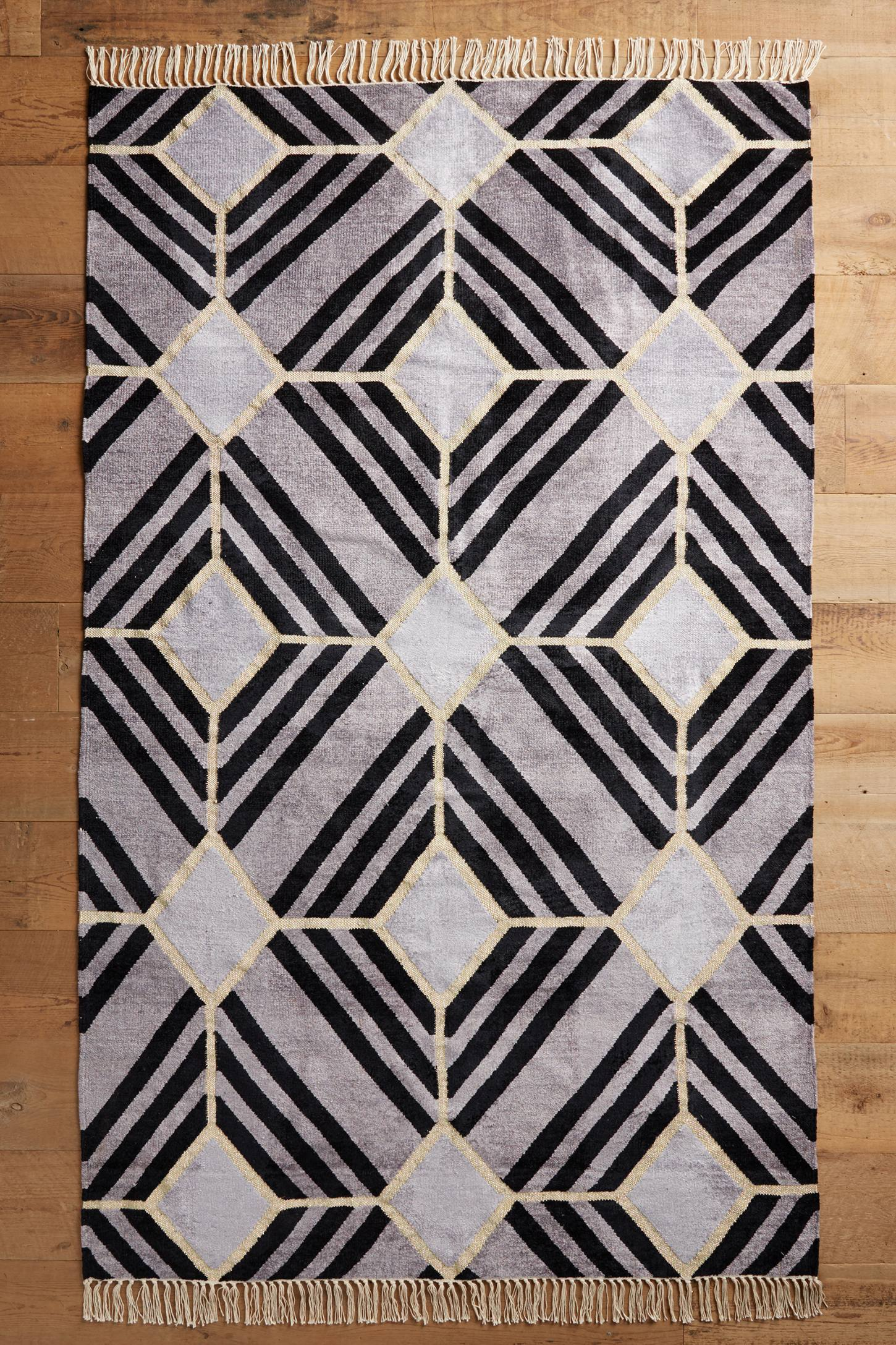 Empire Tile Flat-Woven Rug