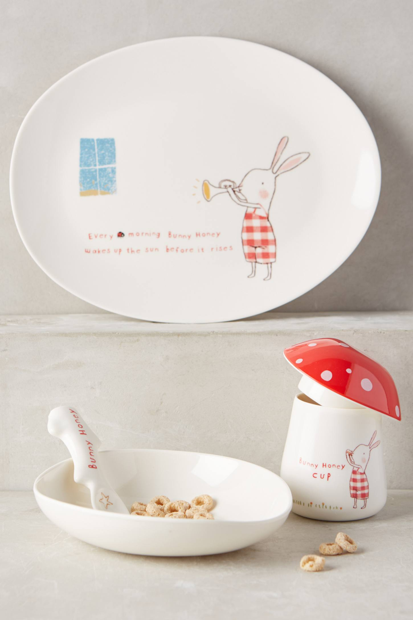 Bunny Honey Dinnerware Set