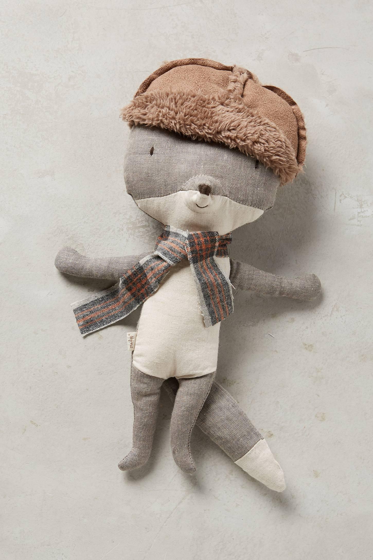 Trapper Wolf Doll