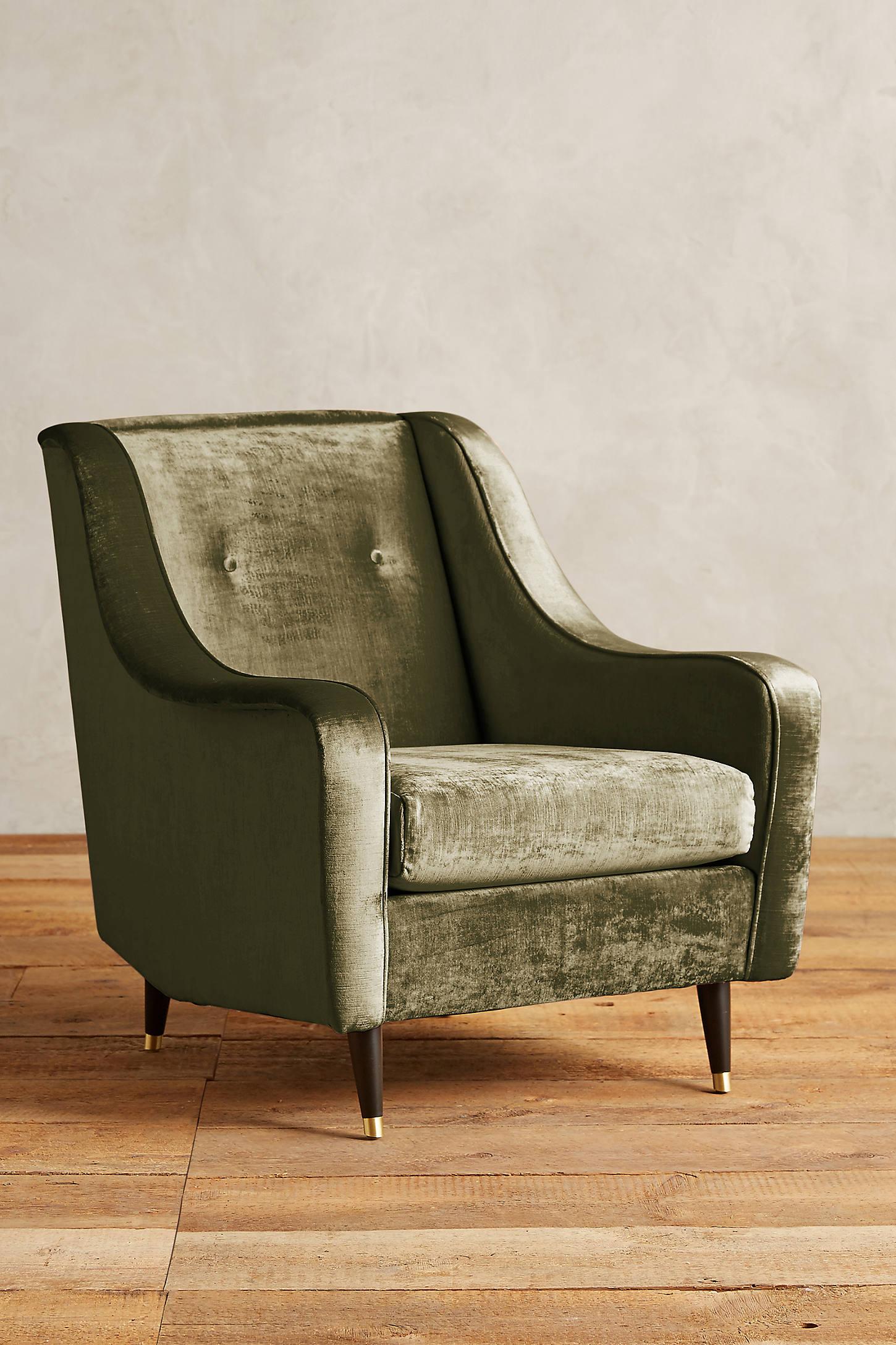 Slub Velvet Adrie Chair