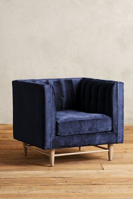 Slub Velvet Marryn Chair