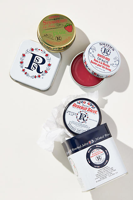 rosebud tin lip balm